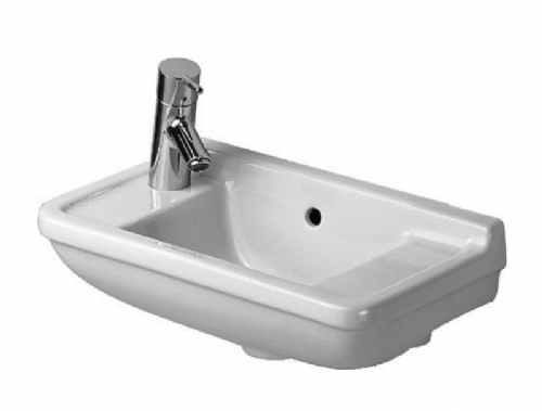 Duravit Compact Handrinse Basin - 500mm - With 1 Hole For Tap (On Left) - Model Number 075150